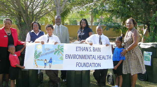 Local Environmental Foundation Launches Clean Campus Campaign at CW Sawyer Primary